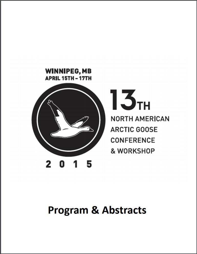 13e conférence et atelier nord-américains sur les oies de l'Arctique