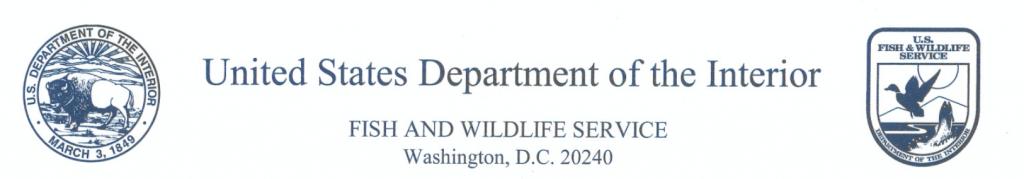 Réponse du U.S. Fish and Wildlife Service à la requête du Conseil de la voie migratoire du Pacifique concernant des dispositions réglementaires de l'Ordonnance de conservation